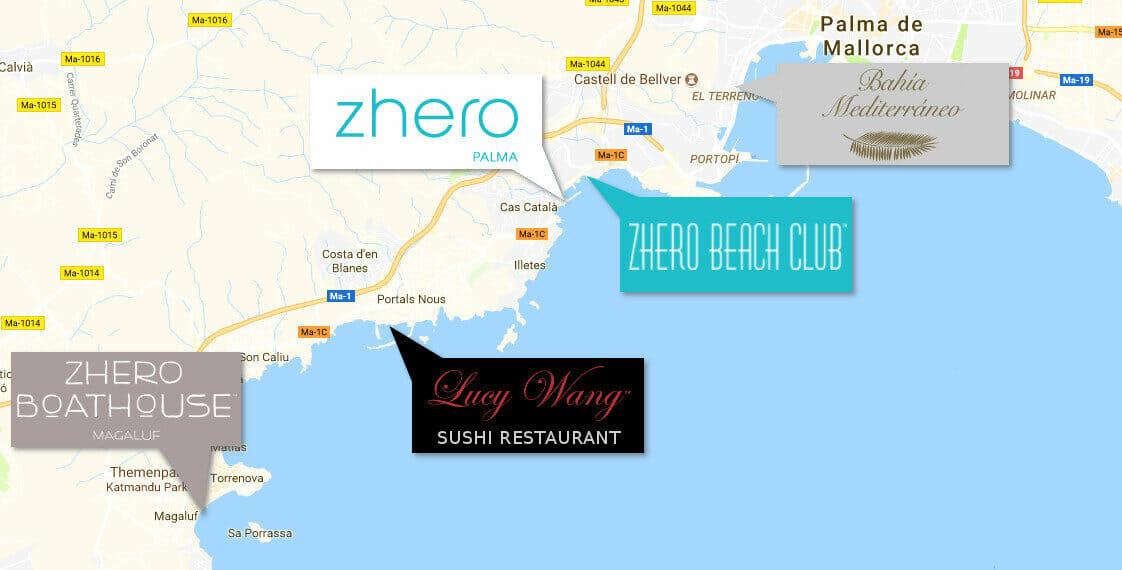 Zhero Beachclub Palma • Eventlocation • Mallorca